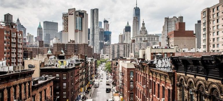 a view of NYC
